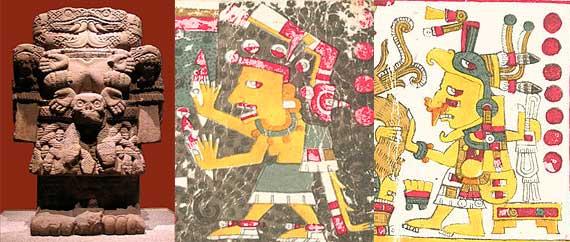 diosas aztecas