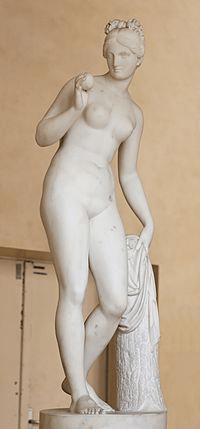Diosa Venus con la Manzana