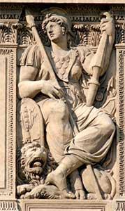 belona diosa romana de la guerra